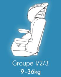 Sièges Groupe 1/2/3