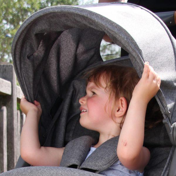 poussette cassy canopy
